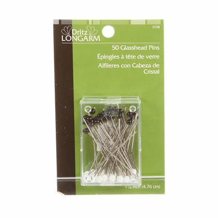 Dritz Longarm Glass Head Pins