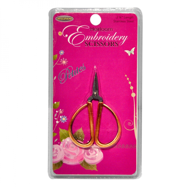 Petites Embroidery Scissors Gold
