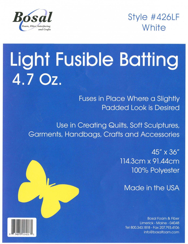 Single Sided Light Fusible Batting