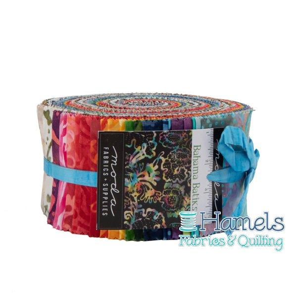 Bahama Batiks Jelly Roll