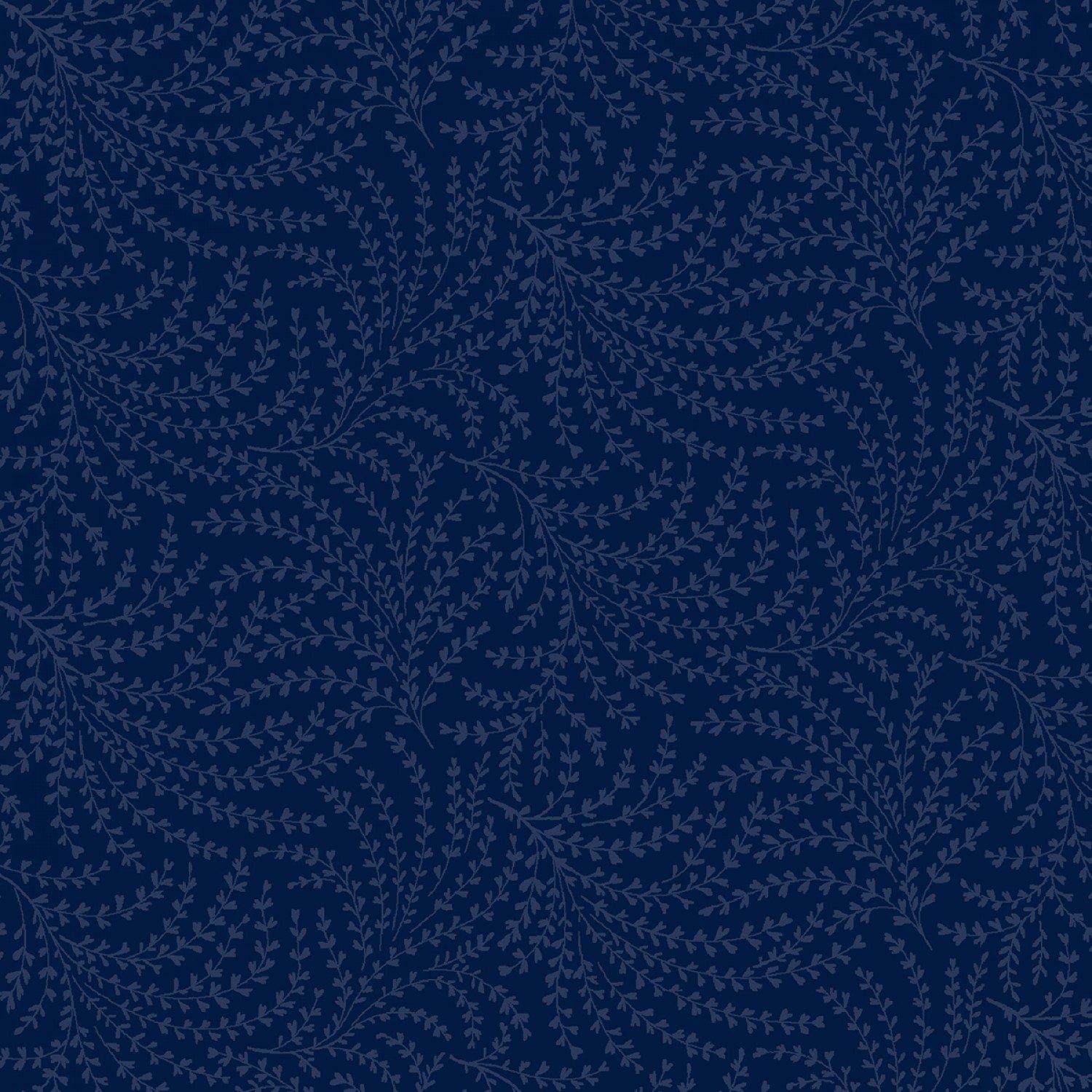 Blue Scrolling Vine 108in Quilt Back - 50664-8