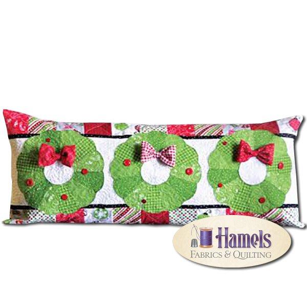 Kimberbell  - Deck The Halls Bench Pillow Kit