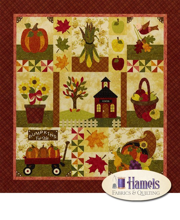 Blessings of Autumn - 2nd Harvest Quilt Kit