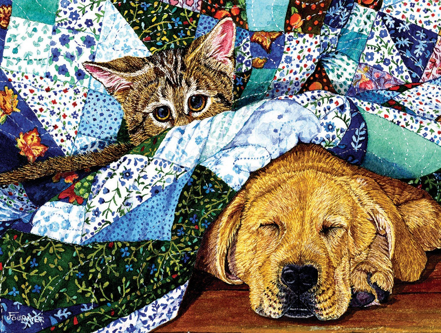 Quilted Comfort 500pc Puzzle *Now Taking Pre-Orders*