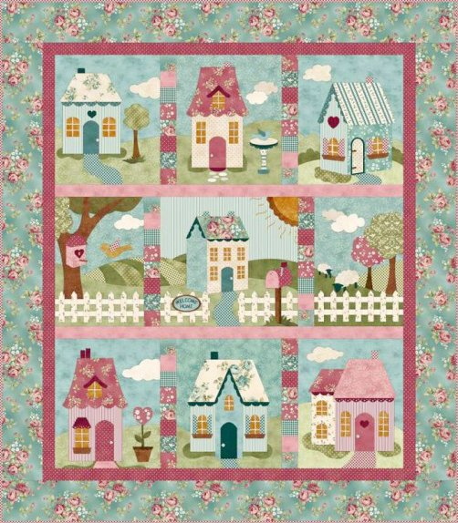 Welcome Home in Spring Quilt Kit