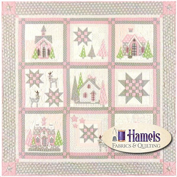 Glitter Houses Quilt Kit