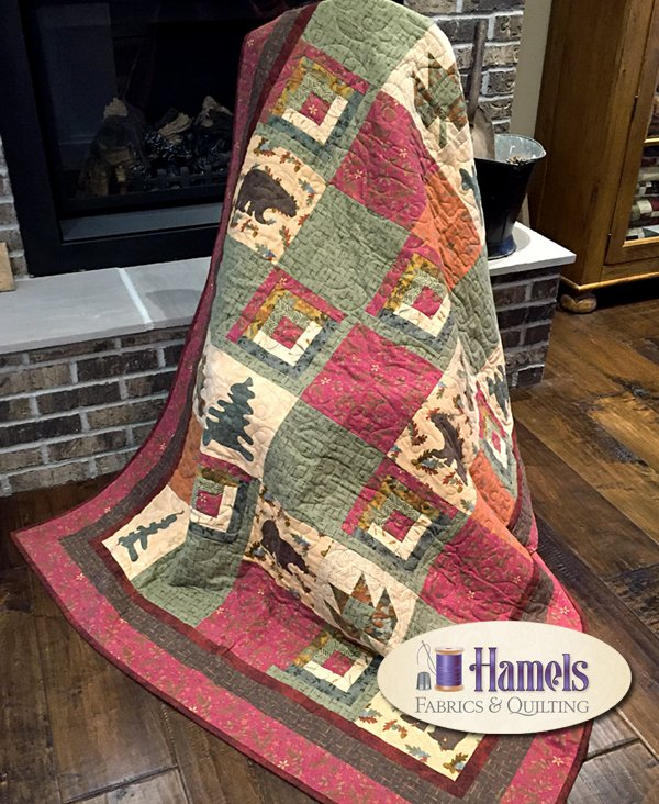 Lakeside Flannel Quilt Kit