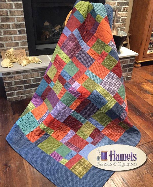 Cozy Flannel Siesta Quilt Kit