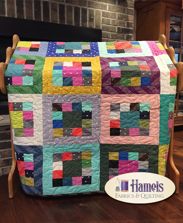 Cotton and Steel Market Square Quilt
