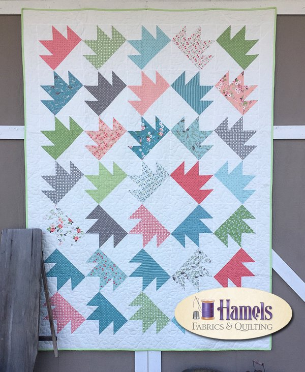 Gingerbread ~ Nest Quilt Kit