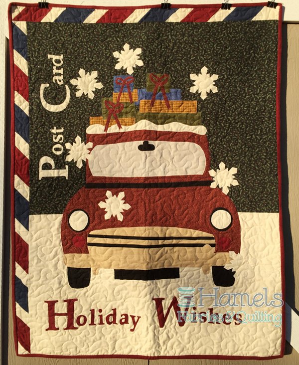 Holiday Wishes Flannel Quilt Kit