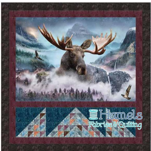 Majestic Moose Quilt Kit