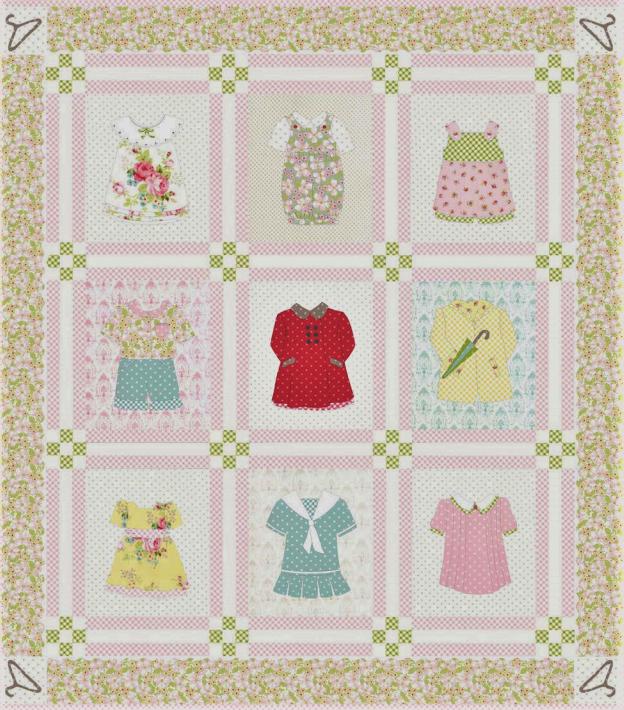 Betsy's Closet Quilt Kit