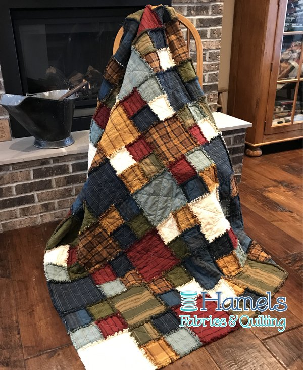 Country Time Rag Time Quilt