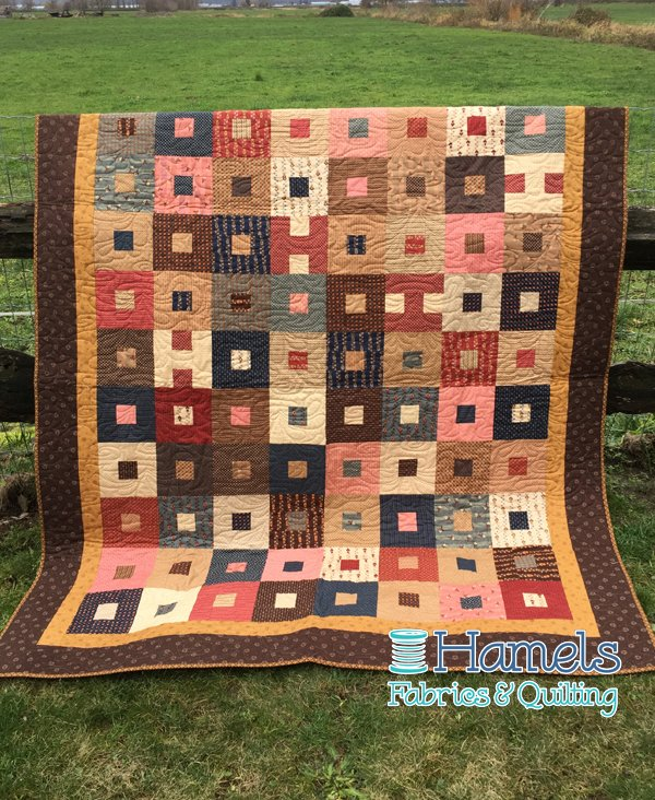 Kindred Spirits - Pops-A-Lot Quilt Kit