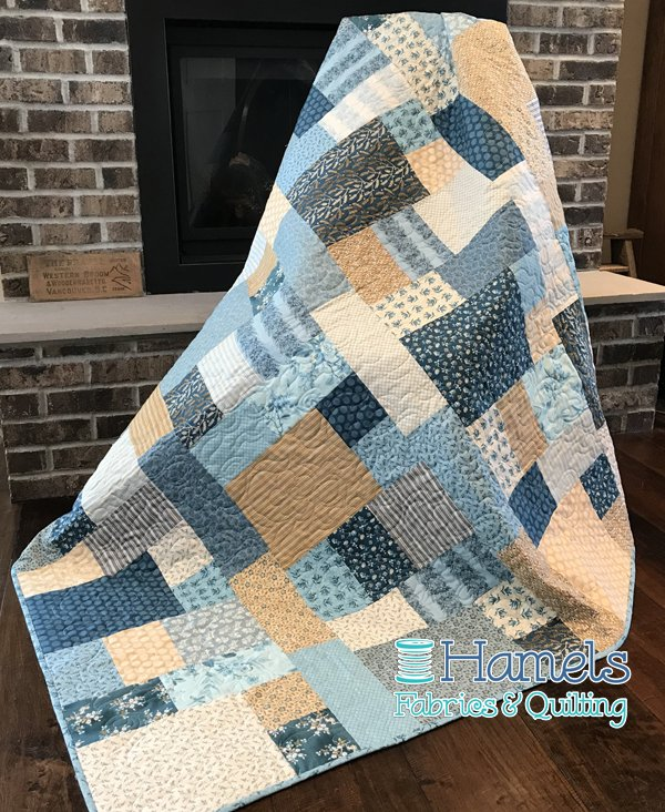Celine - Something Blue Quilt Kit