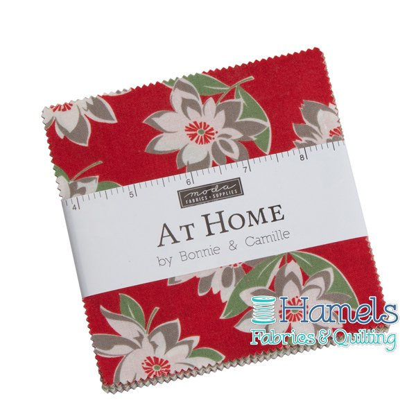 At Home - Bonnie's House Charm Pack