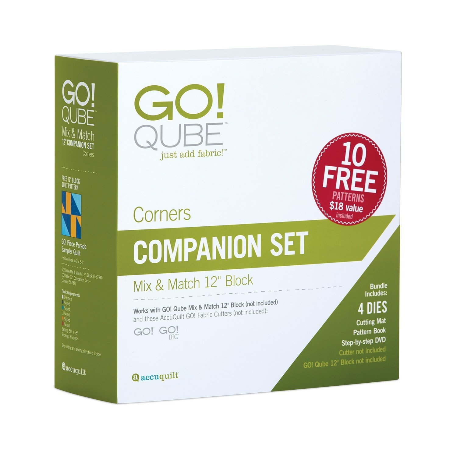 GO! Qube 12 Companion Set-Corners