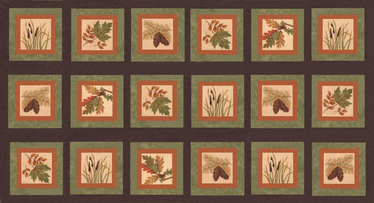 Fall Impressions Flannel PANEL - 56700F-14