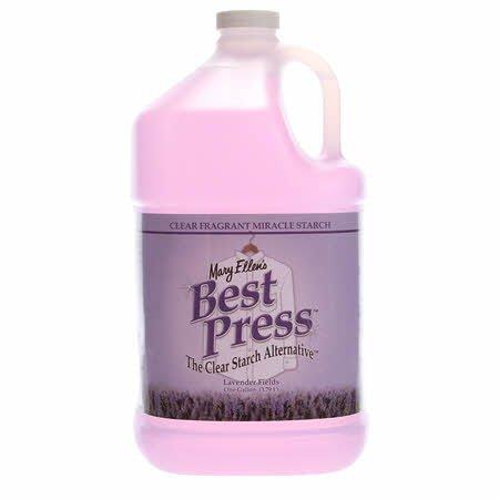 Best Press Spray Starch Lavender Fields Gallon Refill Size