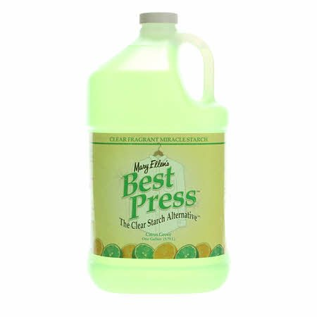 Best Press Spray Starch Citrus Grove Gallon Refill Size