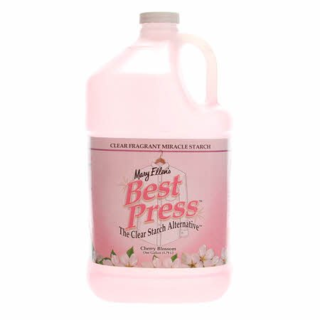 Best Press Spray Starch Cherry Blossom Gallon Refill Size