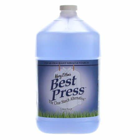 Best Press Spray Starch Linen Fresh Gallon Refill Size