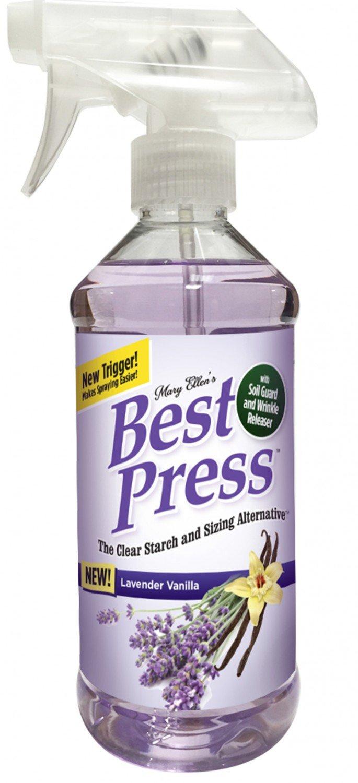 Best Press Spray Starch Lavender Vanilla 16oz
