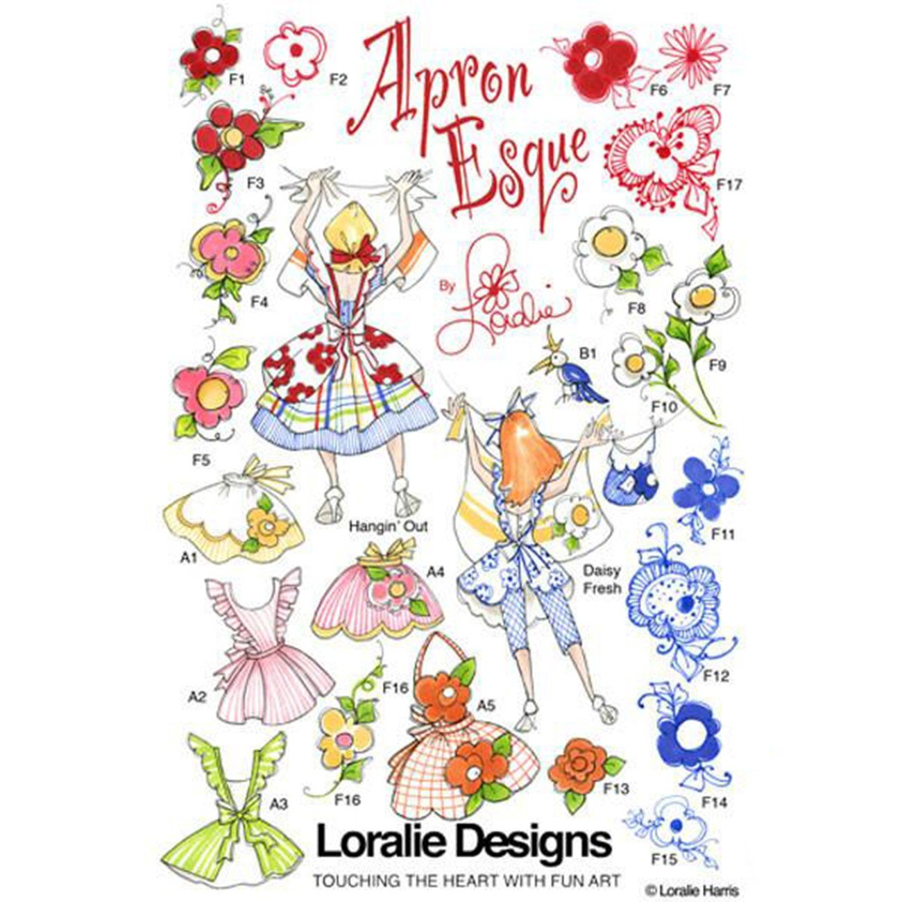 ApronEsque Machine Embroidery Design Collection