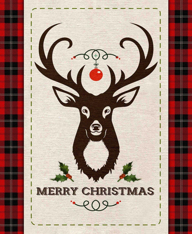 Christmas Merry Deer 36in Panel - 69522A620715