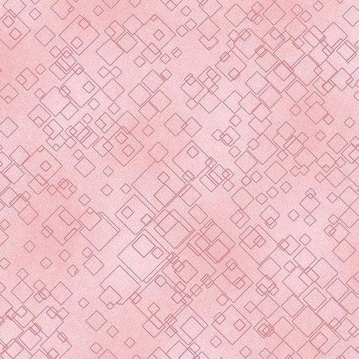 Tonal Squares -  Light Pink - 7549-01