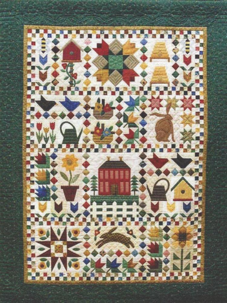 Spring Garden Sampler Complete Pattern Set