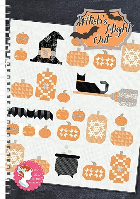 Witch's Night Out - Quilt Book