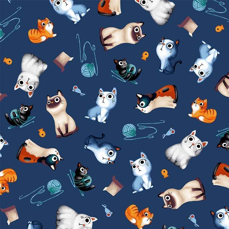 Feline Friends - Cats Allover - 8638-11