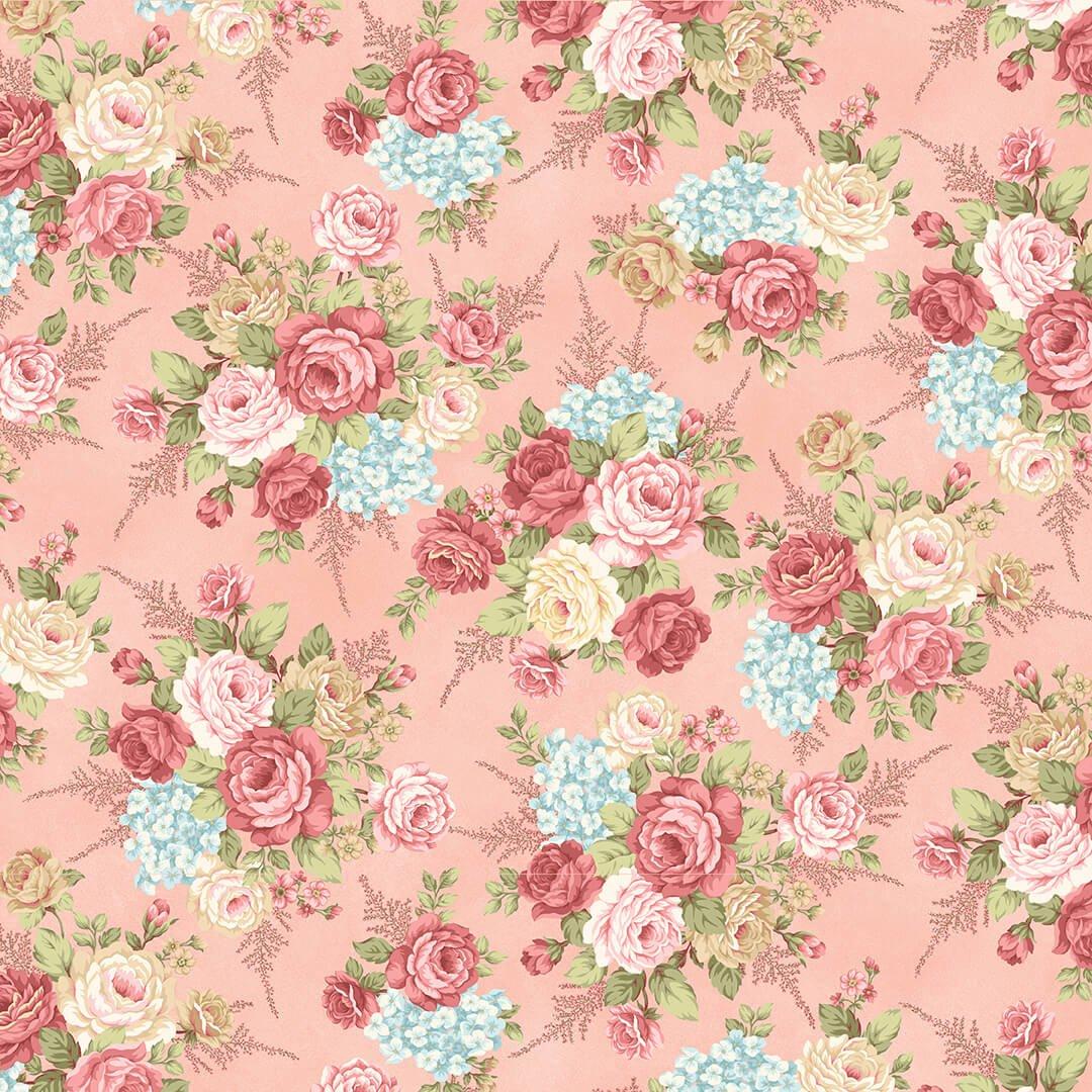 A Peaceful Garden Flannel 8690F-22