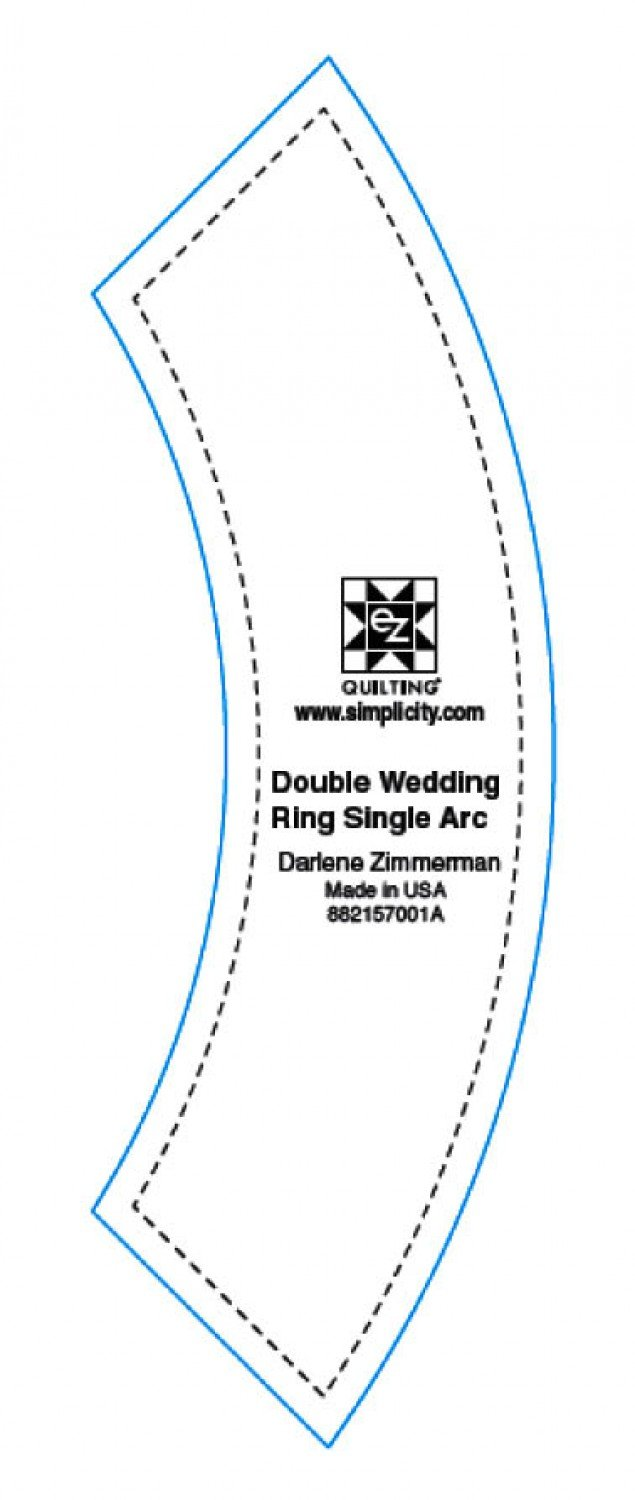 Double Wedding Ring Single Arc Template
