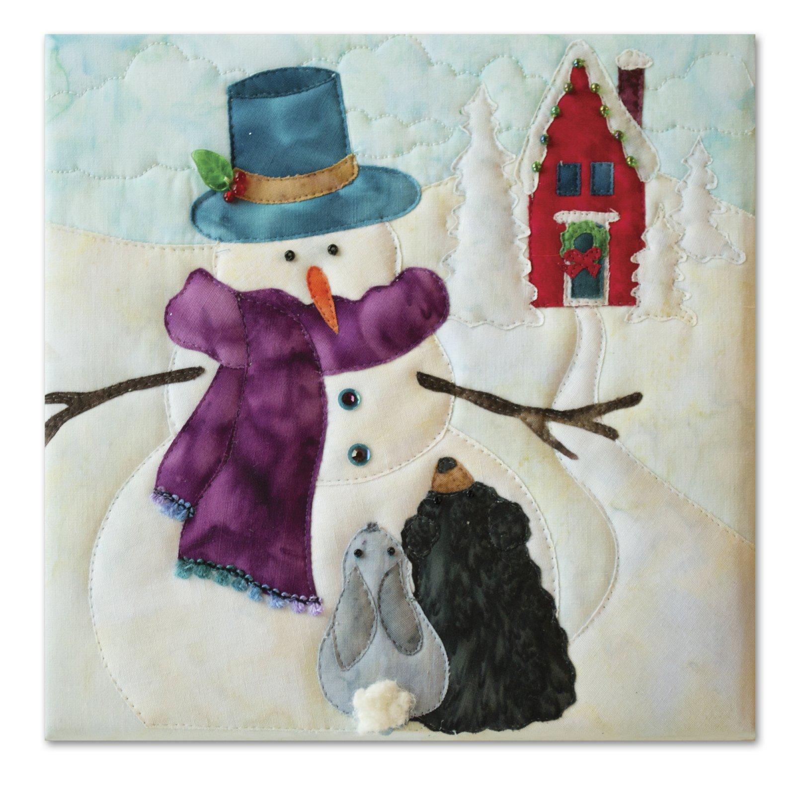 Snow Buds A Winter's Tale Block Kit