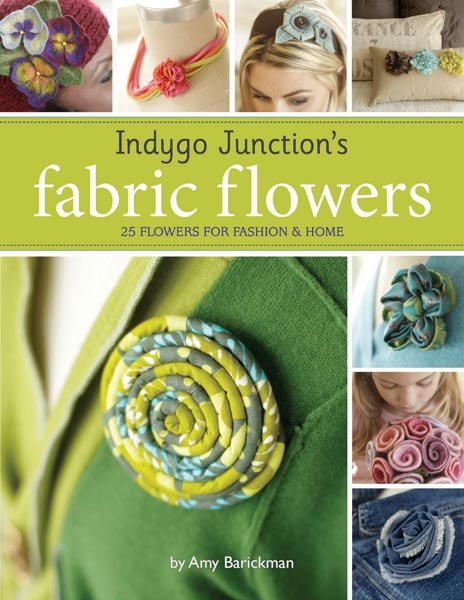 Indygo Junction's Fabric Flowers - Softcover