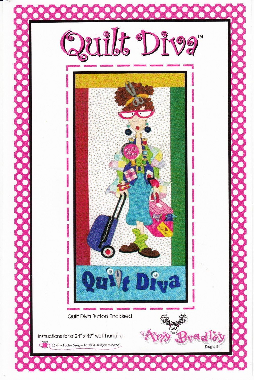 Quilt Diva (Inculdes Quilt Diva Button)