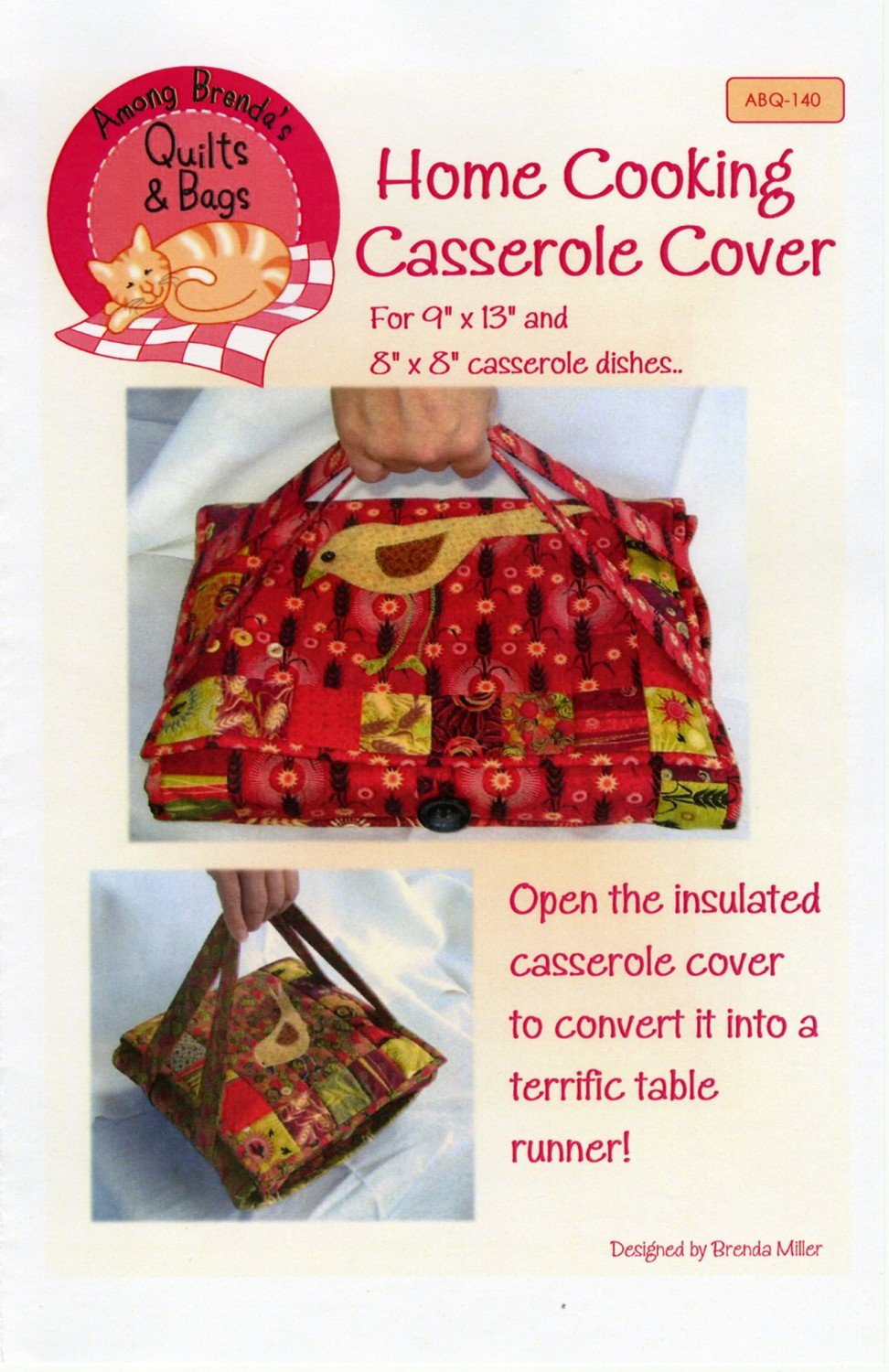 Home Cooking Casserole Cover Or Table Runner