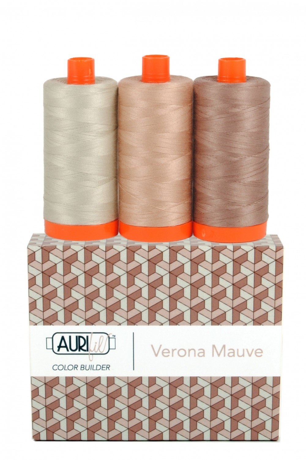 Aurifil Color Builder 3pc Set - Verona Mauve