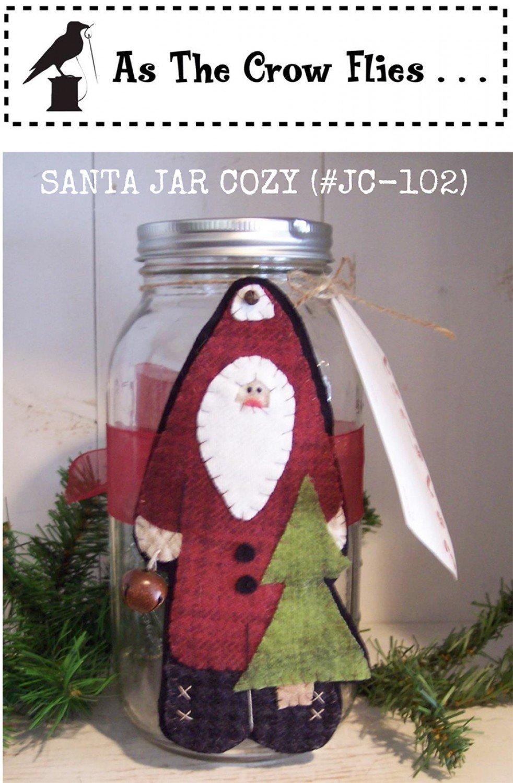 Santa Jar Cozy