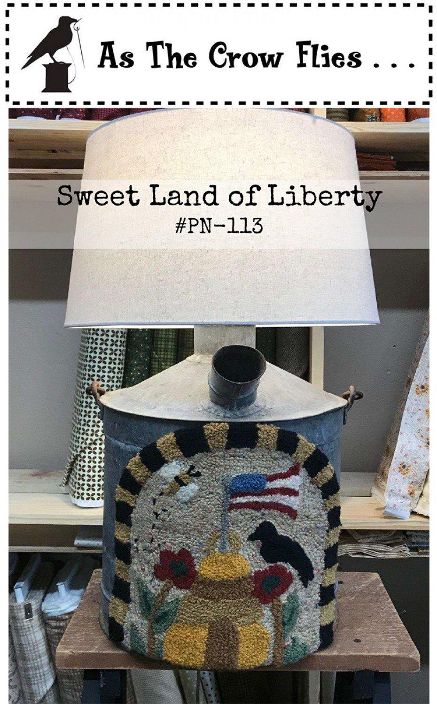 Sweet Land of Liberty Punch Needle