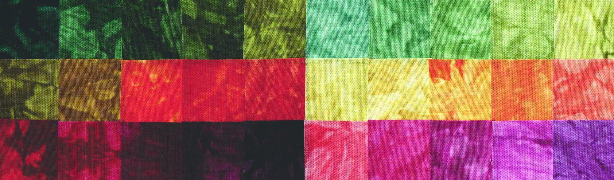 Autumn Equinox Hand Dyed 30 Pack Fat Quarter Bundles