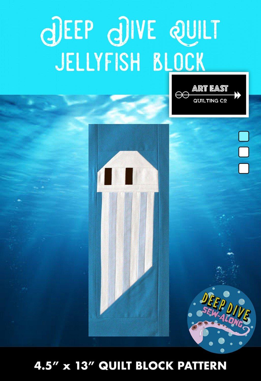 Deep Dive Quilt - Block 6 - The Jellyfish