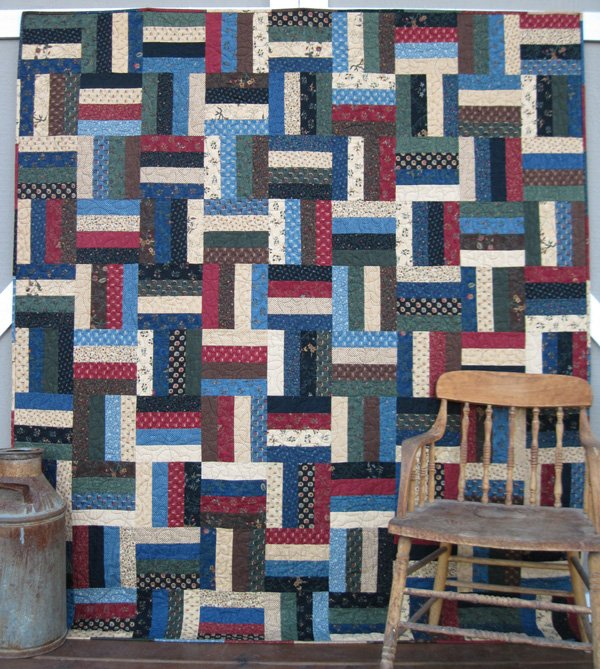 All Fenced In Kansas Trouble Quilt Kit