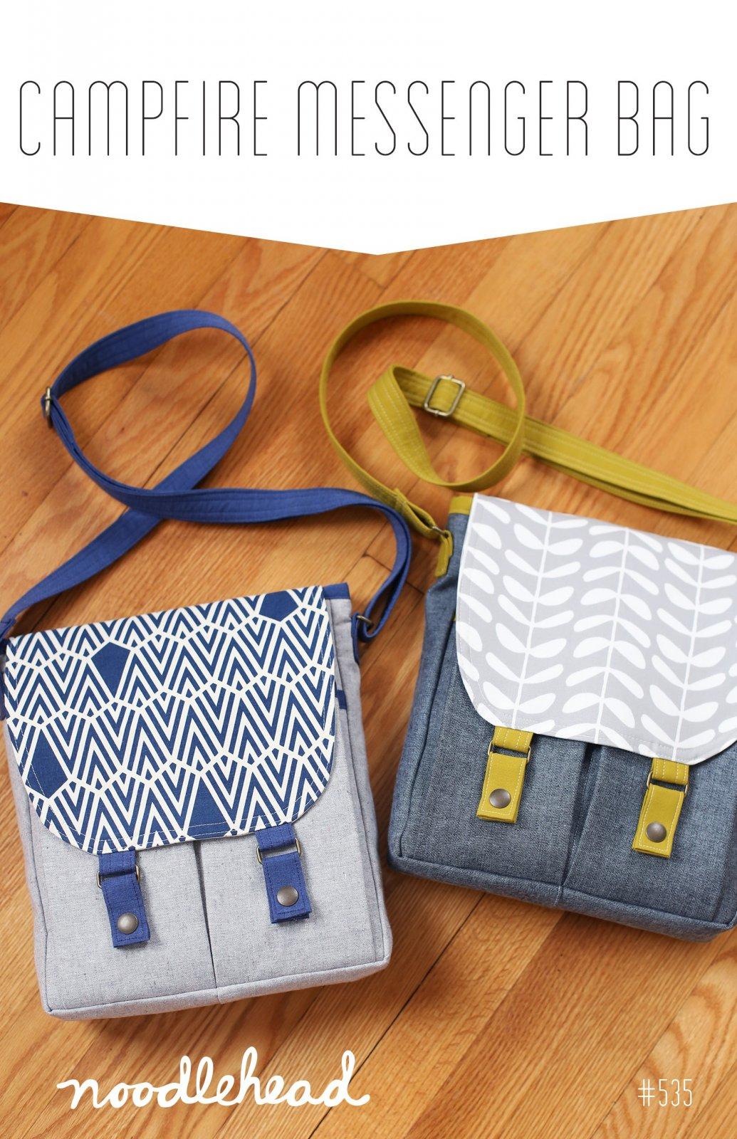 Campfire Messenger Bag