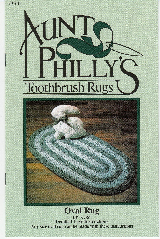 Oval Toothbrush Rug