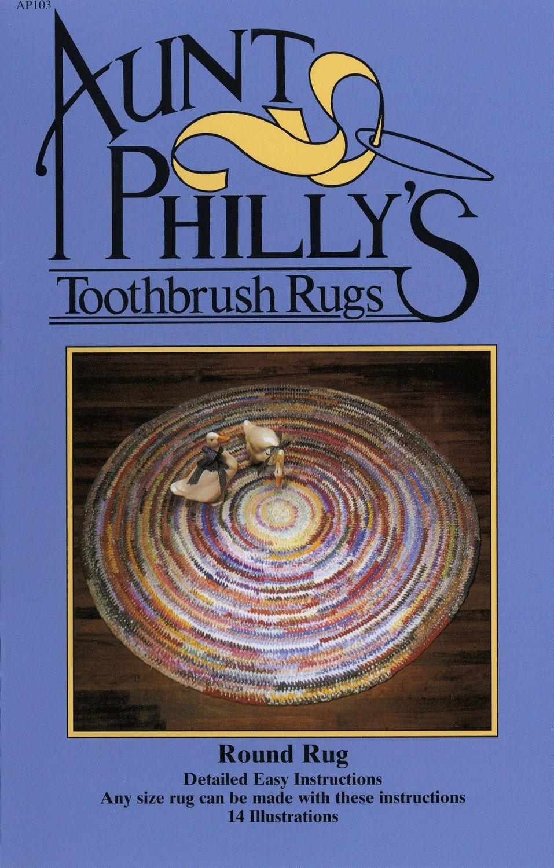 Round Toothbrush Rug