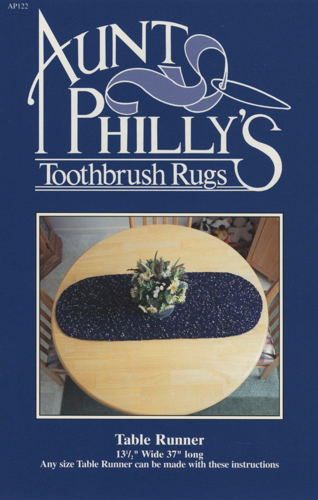 Table Runner - Toothbrush Rug